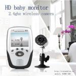 639R+301 caméra sans fil de vision nocturne de 2,5 de pouce moniteurs IR de bébé et carte d'écart-type enregistrent le récepteur DVR