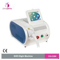 China portable IPL SHR intense pulse light hair removal photon hair removal skin rejuvenation machine on sale