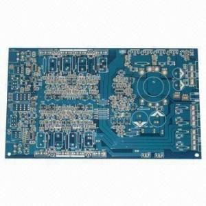 China FR4 Rigid PCB Board With 2.0mm Thickness Blue Mask Immersion Gold on sale
