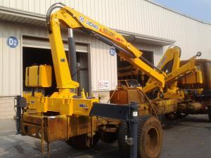China 3200kg 6.72 TM Lifting heavy duty crane / hydraulic boom crane Commercial on sale