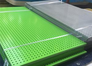 China Epoxy Resin Coating Aluminium Punched Metal Screens Architecture Perforated Metal on sale