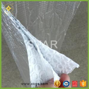China AL Foil +PE Bubble aluminum foil composite film bubble insulation material made in China on sale