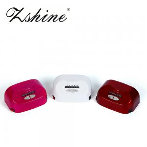 China Auto Sensor Time Setting LED Nail Lamp with 365nm + 405nm Beads on sale