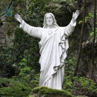 China Handmade life size resin statue religious figure Jesus on sale