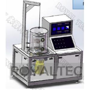 China Experimental Magnetron Sputtering Unit Vertical Portable Small Size Full Automatically on sale