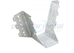 China Galvanised Steel Construction Hardware , Connecter Pine Joist Hangers For Steel Beams on sale