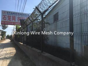 China Professional Metal Wire Fencing , Wire Mesh Sheets For Residence / Courtyard on sale