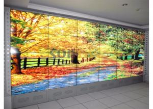 China TFT Type 46 LCD Video Wall Display For Shopping Mall Low Power Consumption on sale