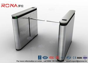 China Fingerprint Drop Arm Turnstile Road Access Control Electronic Barrier Gates With CE approved supplier