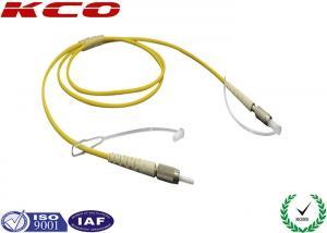 China DIN Simplex Duplex Fiber Optic Patch Cord Cable Jumper SM 9/125 G652D on sale