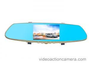 China Grabación de alta resolución del lazo del espejo de la vista posterior de la leva de la rociada del coche con la tarjeta de memoria del TF on sale