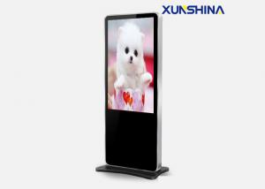 China Iphone Style Touch Screen Digital Signage for Retail , Full HD Vertical Kiosk on sale