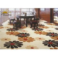 High Definition Commercial Floor Carpets Low Pile , Wall To Wall Carpet Nylon Printed