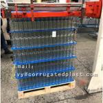 pp coroplast board sheet corrugated plastic pallet dividers