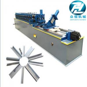 China Galvanized Steel Metal Stud And Track Roll Forming Machine For C Z U L Channel Purlin on sale