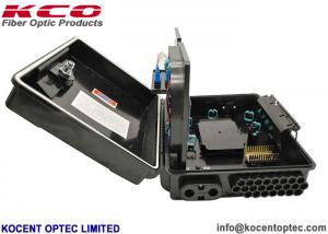 China KCO-FAT-24B Fiber Optic Terminal Box 24 Core BS PC Material IP65 Outdoor Application on sale