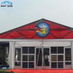 1000 People Huge Outdoor Exhibition Tents With Solid Walls Air Conditioner