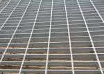 Welding Heavy Duty Steel Grating , Steel Stair Treads Grating Raw Material