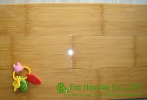 China Horizontal compressed high gloss bamboo flooring For Sale,Carbonized Indoor Bamboo Floors on sale