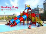 Popular Water Playground Equipment , Swimming Pool Commercial Water Park Equipment Superior