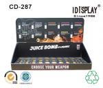 China Retail Store E Liquid Juice Cardboard Table Top Displays , Cigarette Cardboard Display Racks Cabinet wholesale