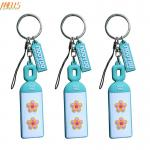 Unique Personality PVC Key Chain Durable Thickness 1.5mm  - 4.0mm