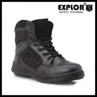 2014 New Black Lightweight Military boots Duty Combat Boots desert boots with steel toe
