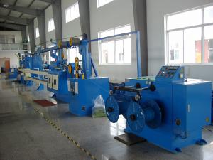 China Cable Extrusion Line Nylon Coating Machine with Max. 200 / 300 / 400 / 500 m/min on sale