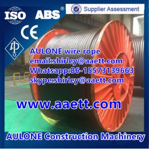 China 35WXK7 non-rotation and compacted crane wire ropes on sale