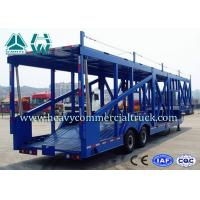 Long Distance Auto Hauling Trailers For Transporting Cars Enclosed Vehicle Transport