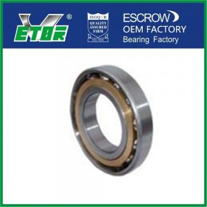 China Chrome Steel Sealed Angular Contact Ball Bearing For High Frequency Motor on sale