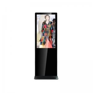 China 43 inch 1080p indoor advertising display ARM based ouchscreen totem Android 7.0 4G RAM 32G Flash on sale