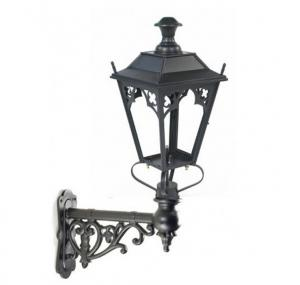 China Antique Cast Iron Lamp Post Classical Wall Light Pole For Yard Decoration on sale