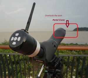 China Water Proof WIFI Telescope , Wi-Fi Spotting Scope TW201 on sale