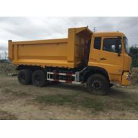 6*4 Dongfeng Dump Truck , 10 Wheel Dump Truck With Left Hand / Right Hand Drive