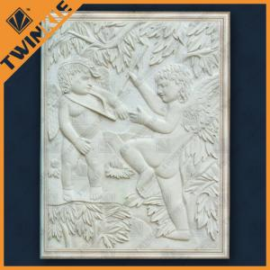 China Sandstone / Stone Relief Carving , Interior Decoration Murals Relief on sale