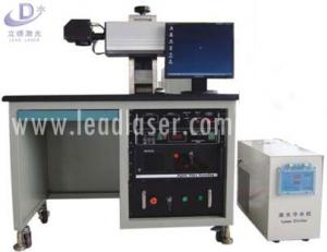 China 20w 30w 50w Fiber Laser Marking Machine, Metal Uv Laser Engraver Printer on sale