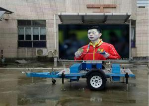 China Solar Powered Truck Mobile Led Display Advertising P13.33 High brightness on sale