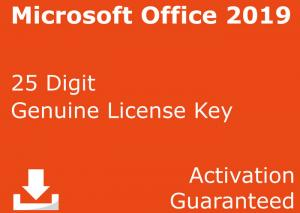 China Microsoft Office 2019 Professional for 1 PC // 32 and 64 bit Genuine Licence key Windows or Mac on sale