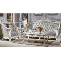 China Living Room Luxury Classic French Furniture Living Color Solid Wood Frame on sale