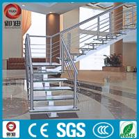 China Elegant design high end stainless steel staircase design on sale