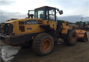 China Komatsu WA320-5 Second Hand Front End Loaders Japan Original Color  2.000 Rpm on sale