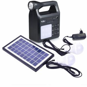China 3W Multifunctional Rechargeable cell phone lampara emergencia camping emergency Solar light Energy home Systems on sale