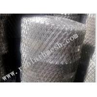 China Diamond Brick Wire Mesh 10-30cm Width 10-100m Length 12*25mm Hole on sale