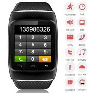 China 1.54high definition capacitive touch screen,bluetooth Watch Wristband with Pedometer on sale