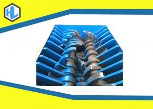 China Blue Color Hospital Waste Management Shredding Machine Low Noise Design on sale