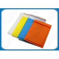 Green Recyclable Coloured Kraft Bubble Mailers , Packaging Padded Mail Bags