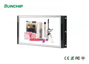 China 13.3 Inch LCD Open Frame Monitor Support Sd Card Usb Memory Multi Interfaces on sale