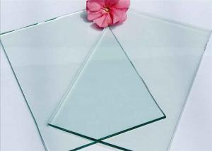 China Various Forms 3mm Float Glass Flat Surface With Excellent Optical Performance on sale