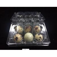 hot sells egg trays clear quail egg trays with 6 holes 2*3 holes PVC / PET / APET... quail egg container